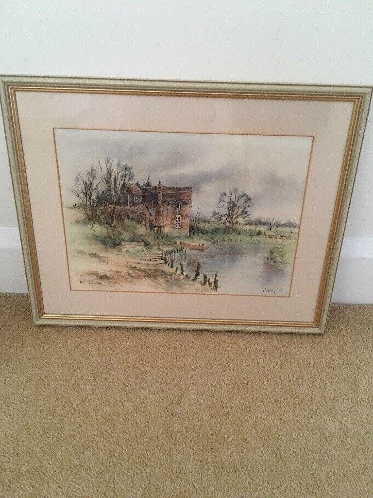 Original Watercolour Painting, Terry Jeffrey | in Frinton-on-Sea ...