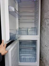 Lovely Large White Fridge Freezer, free delivery available