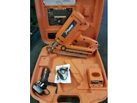 Paslode IM350 First Fix Nail Gun, Serviced, Two Batteries and a Charger