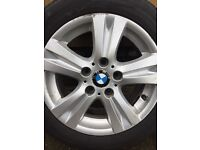 16 inch BWM alloys with tyres