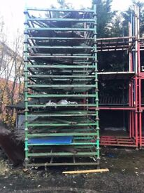 STILLAGES FOR SALE, ALL DIFFERENT SIZES, FOR INDOOR & OUTDOOR USE