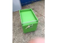 Green 2 Drawer Pedestal