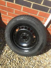Vauxhall Wheel - Continental Tyre Full Tread
