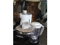 Breville Juice Fountain and blender