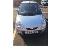 Chevrolet Matiz low mileage 2010. £1099 ONO