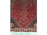 Very beautiful Hand-knotted Persian carpet Shiraz/Iram 100% wool measurement 325cm X 225cm