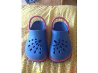 Girls Marks & Spencer Crocs size 13, good clean condition from pet and smoke free home