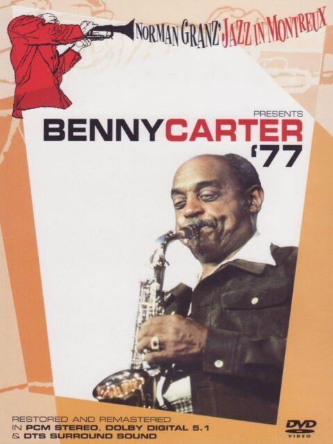 Benny Carter `77 - Norman Granz` Jazz in Montreux / DVD / NEU+OVP!