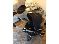 Bugaboo bee plus and accesories