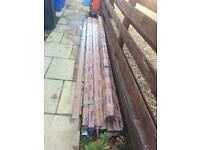 Lot #1 Free foam caramel ogee guttering & fittings