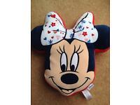 Minnie Mouse cushion approx 45cm x 30
