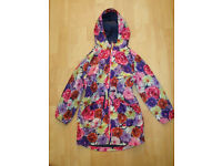 GIRLS SHOWERPROOF JACKET M&S 7-8 YEARS