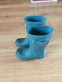 Hunter Children's boots UK 8