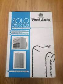 BATH AND SHOWER FAN VENT-AXIA SOLO (NEW)