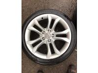 Audi s4 b8 alloys with tyres