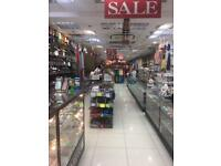 Half Shop space available to let