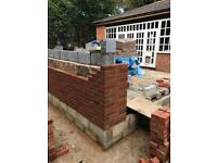 Bricklaying Work carried out ..