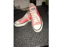 Size 5 pink converse size 5 1/2 pink Ralph Lauren