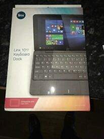 Linx 10/10 keyboard brand new boxed (keyboard only)