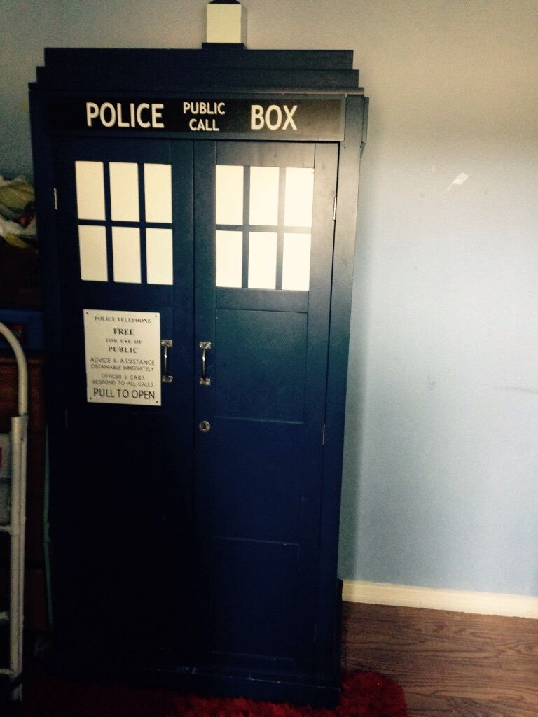 Dr Who Solid Wardrobe Tardis In Waterlooville Hampshire