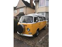 Vw camper van early bay type 2