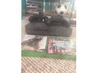 Xbox one grey ltd edition GTA5 call of duty x2