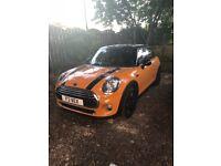 2014 1.5 Orange Mini Cooper
