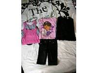 Bundle of girls clothes size 3-4