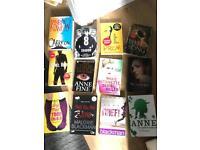 Bundle of 12 books for older kids/ teens
