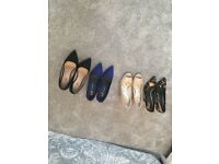 4 pairs of shoes 2x size 5 & 2x size 6