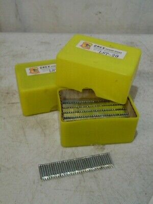 34 1600 Piece 2 Box Concrete Galvanized T Nails Gex Power Tools Lst-20 New