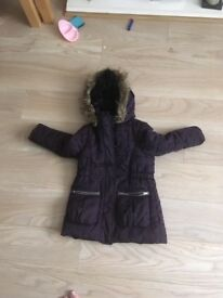 Girls coat 4-5 years old