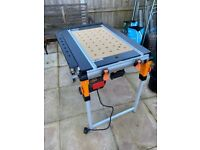 Triton TWX7 WorkCentre with saw and router table