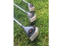 Howson woods 1 3 5 golf clubs