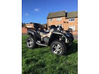 Quadzilla cfmoto x8 66 plate 900 miles ROAD LEGAL FARM QUAD