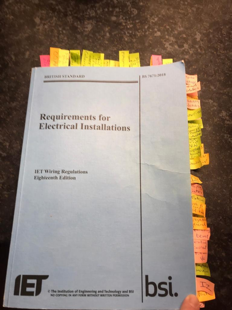 Terrific 18Th Edition Electrical Regs Book In Coventry West Midlands Gumtree Wiring Digital Resources Minagakbiperorg