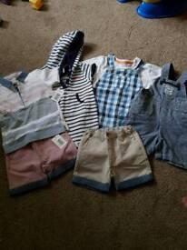 Boys summer bundle 9-12 months