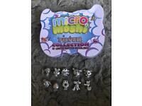 Micro moshi monster silver collection