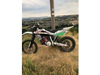 Husqvarna Wr 250 road legal exc yz cr rm