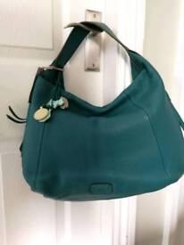 New and unused Radley Teal Handbag