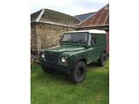 LAND ROVER DEFENDER 90.. GOOD CHASSIS