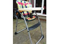 Chicco high chair, good used condition