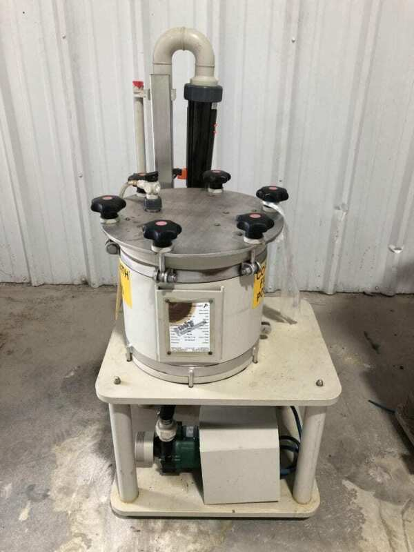 Bohncke 10000-225-M Cartridge Filter w/ pme-2010 0.65kW Magnetic Drive Pump 3PH