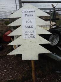 christmas tree signs