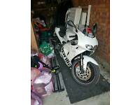 Aprilia RS 125 125cc not NSR white