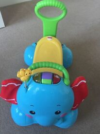Fisher Price bounce stride and ride