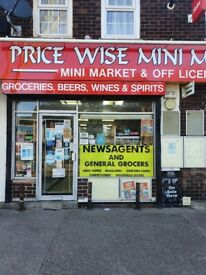 Off Licence, Newsagent & Lottery