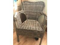 Garden chairs - conservatory chairs x 2 - IKEA