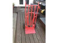 Heavy duty sack trolley in good condition