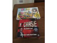 The chase board game & game of life